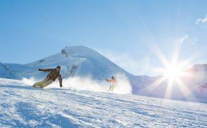 SCHWEIZ SAAS-FEE SKI SNOWBOARD